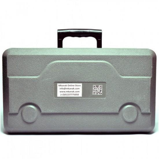 منفاخ هواء الخدمة الشاقة - الجمل 2 بيستم معدن 25 امبير- بشنطة عدة