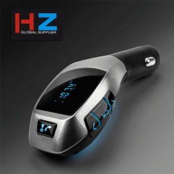 مشغل MP3 بالبلوتوث للسيارة مع شاحن USB TF لاسلكي