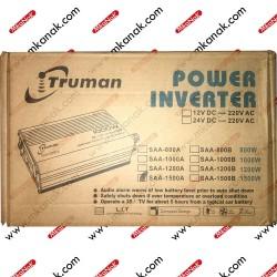 محول 12 فولت إلي 220 فولت بقدرة 1500 وات من ترومان