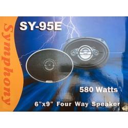 طقم سماعات سيمفوني 4 واي 580 وات