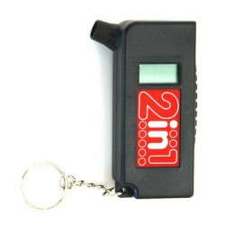 مقياس ضغط هواء إطار السيارة الرقمي 2×1