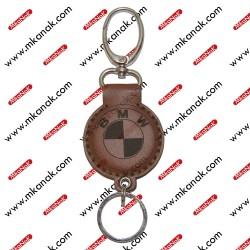 ميدالية مفاتيح جلد بلوجو بي ام دبليو