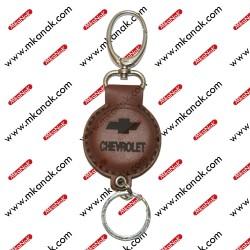 ميدالية مفاتيح جلد بلوجو شيفوليه