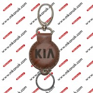 ميدالية مفاتيح جلد بلوجو كيا