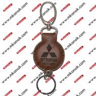ميدالية مفاتيح جلد بلوجو ميتسوبيشي