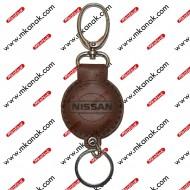 ميدالية مفاتيح جلد بلوجو نيسان
