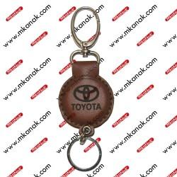 ميدالية مفاتيح جلد بلوجو تيوتا