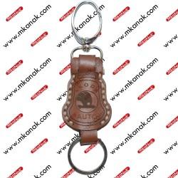 ميدالية مفاتيح جلد بلوجو سكودا