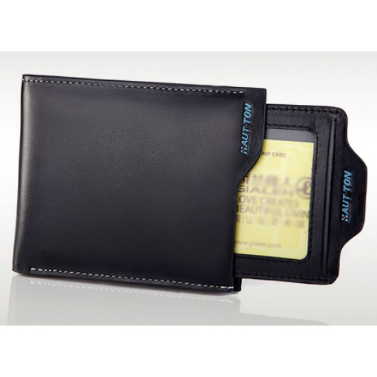 محفظة هات تون سوداء بالعرض